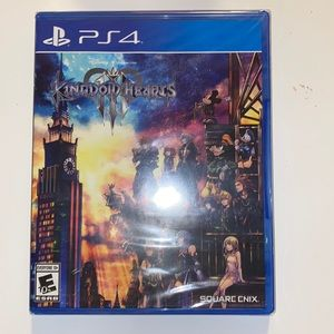 PS4 Kingdom Hearts 3! Brand new in package